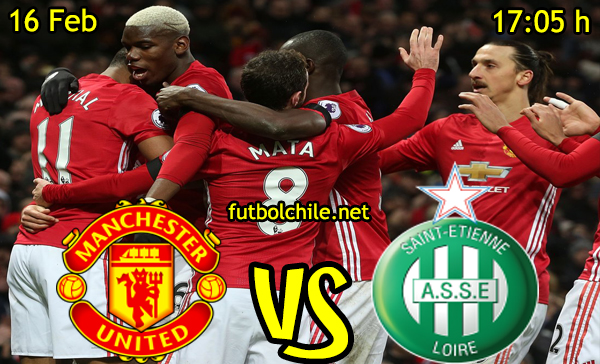 Ver stream hd youtube facebook movil android ios iphone table ipad windows mac linux resultado en vivo, online: Manchester United vs Saint-Étienne