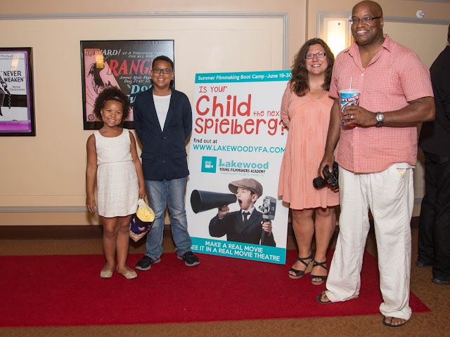 Family at the #LKWDYFA premier