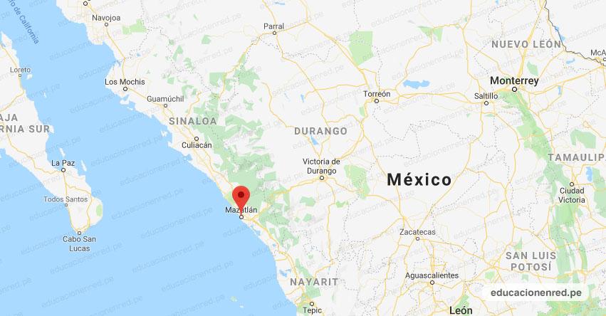 Temblor en México de Magnitud 4.1 (Hoy Domingo 30 Agosto 2020) Sismo - Epicentro - Mazatlán - Sinaloa - SIN. - SSN - www.ssn.unam.mx