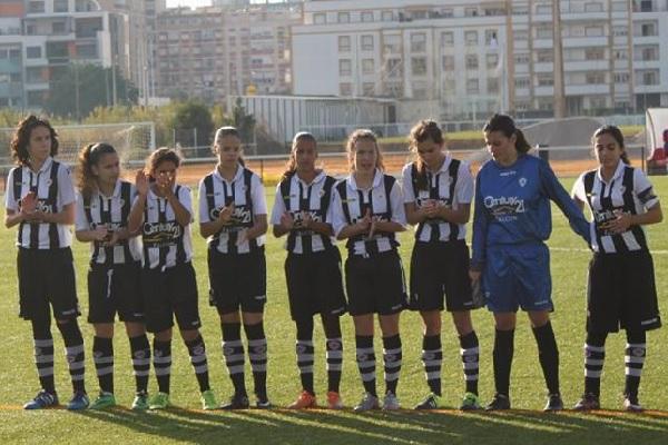 40c3757b35 A equipa feminina de juniores do Paio Pires Futebol Clube que se deslocou  no passado domingo ao Campo Municipal da Várzea empatou a zero com a Escola  de ...
