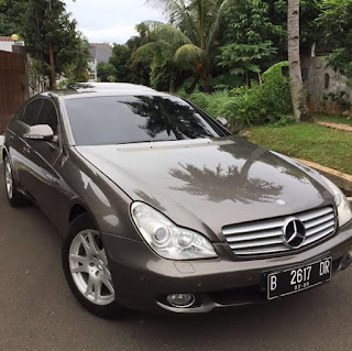Indium Grey Metalic CLS 350 Benz