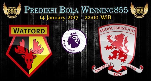 Prediksi Skor Watford vs Middlesbrough