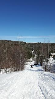 Montagne, neige, Lanaudière, Saint-Côme