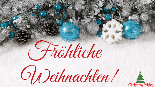 merry christmas in german, merry christmas wishes in different languages