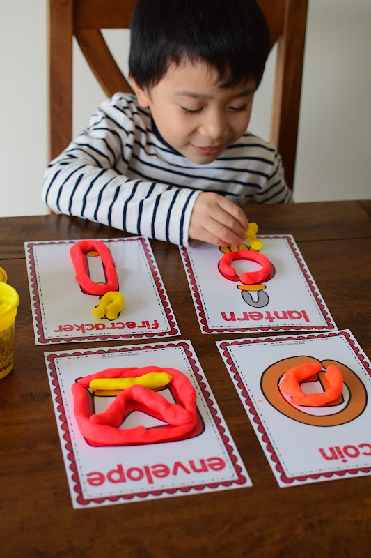 Picture Dough Mats for Fine Motor Skills