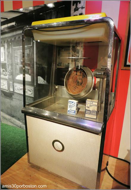 Máquina de Palomitas Museo de Arte Culinario de Providence