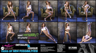 i13 Mellow Visions Pose Collection for the Genesis 3 Female