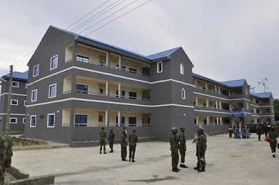 Photos Of The Newly Commissioned Air Force Projects In Mobility Command, Bayelsa State