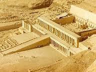 Templo funerario de Hatshepsut en Deir el Bahari