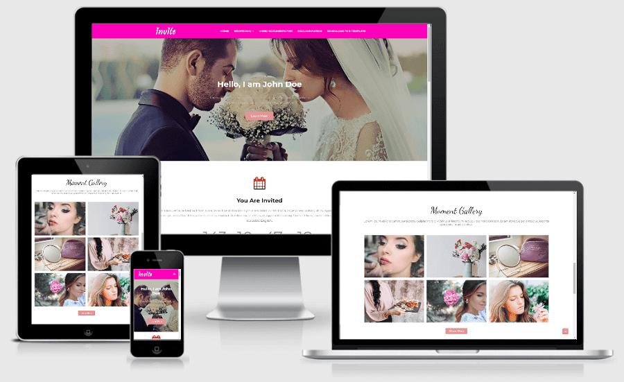 Invite%2BBlogger%2Btheme Invite - Responsive Wedding Blogger Template templates