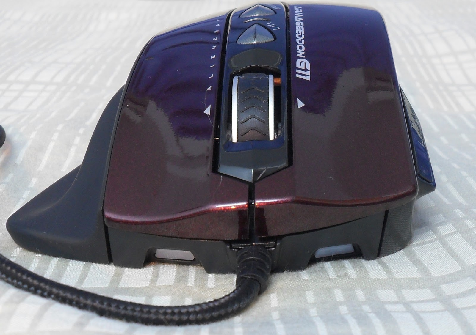 Unboxing & Review: Armaggeddon G11 Alien Craft Gaming Mouse 70