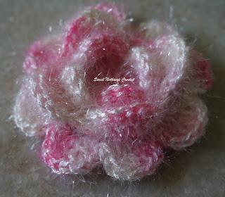 free crochet rose motif pattern, free crochet flower motif pattern