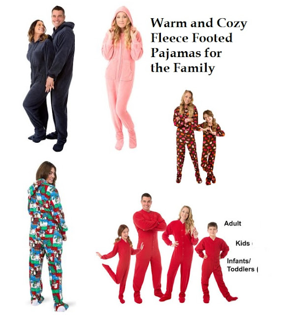 Fleece Onesie Footed Pajamas