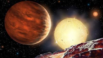 Imagen ilustrativa www.astroart.org/David A. Hardy.Â