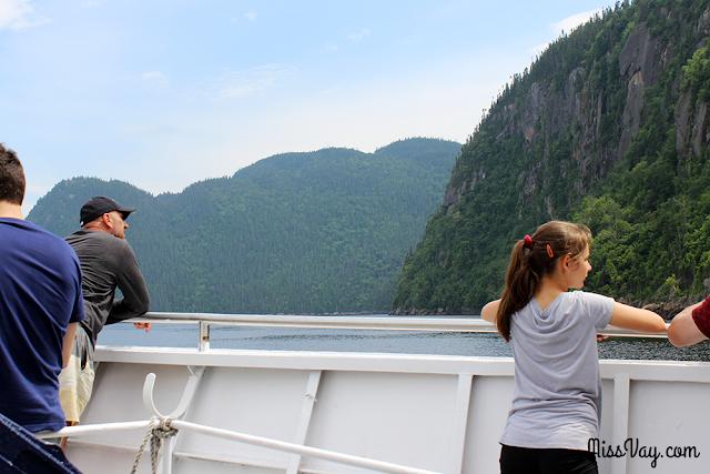Navettes maritimes du Fjord Saguenay croisière