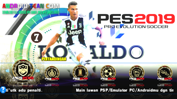 PES 2015 Mod 2019 PPSSPP [Update New Game]