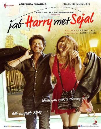 Watch Online Jab Harry met Sejal 2017 Full Movie Download HD Small Size 720P 700MB HEVC BRRip Via Resumable One Click Single Direct Links High Speed At WorldFree4u.Com