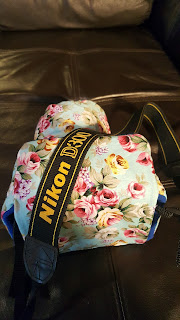 Handmade Custom Camera Bag For a Nikon Camera