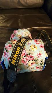 Handmade Custom Camera Bag For a Nikon Camera