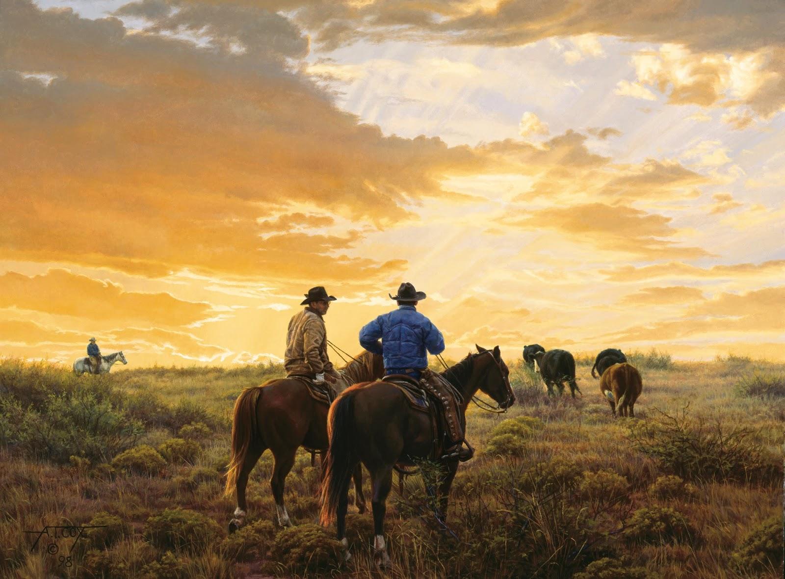 Pinturas de Tim Cox | O Pintor de Cavalos