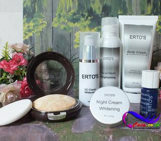 Jual Paket Ertos CC Facial Night Toner Original