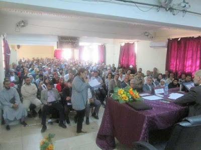 يوم الدراسي بمراكش حول المنهاج المنقح الذي أطره مدير المناهج بوزارة التربية الوطنية