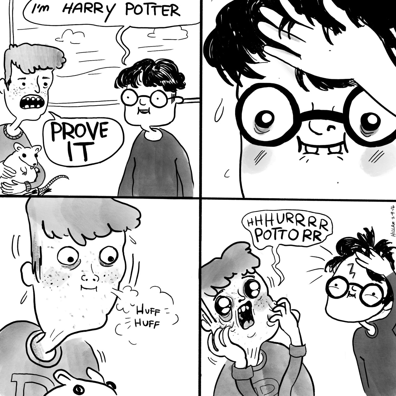 Funny comic from Harry Potter