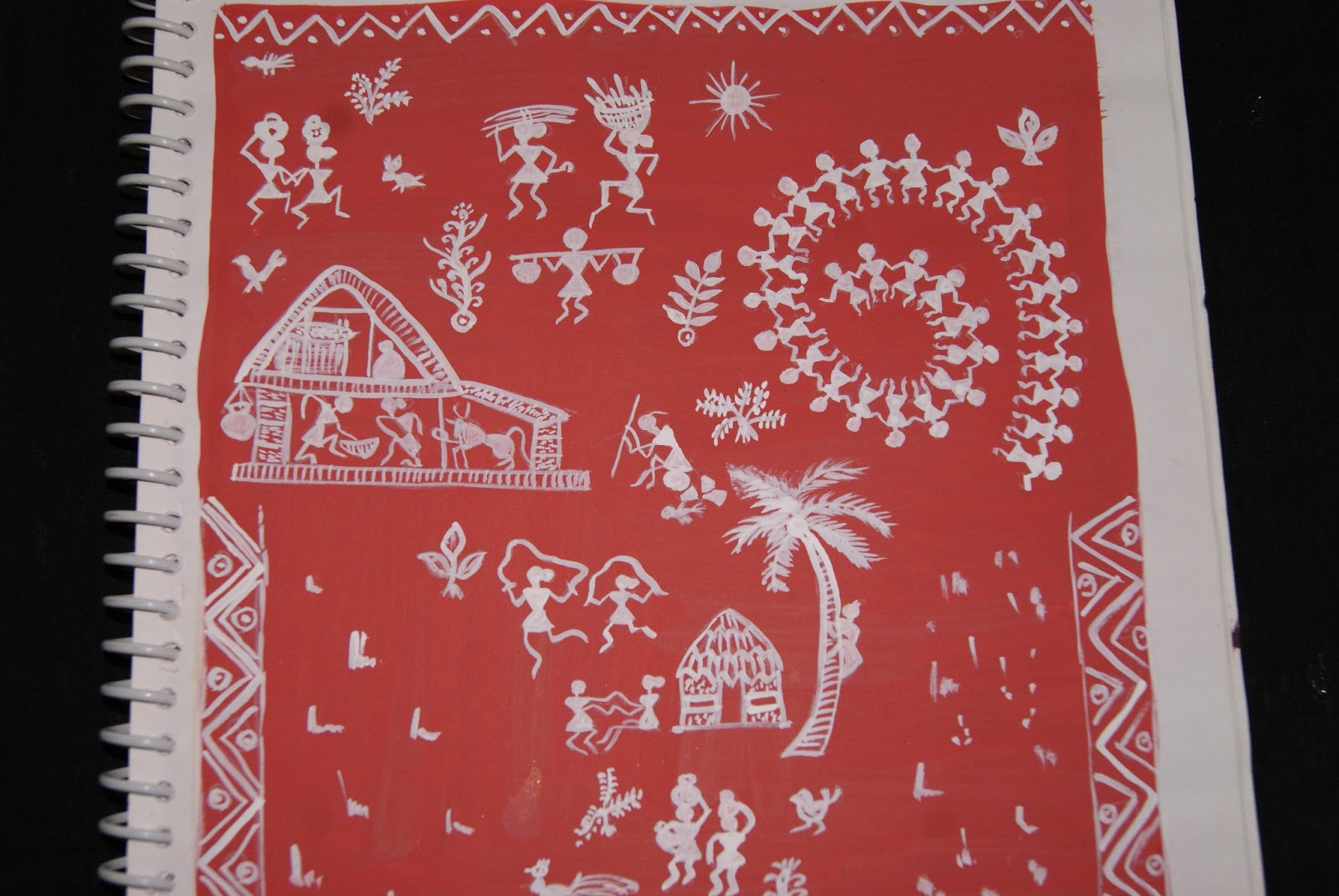 Happy Paintings Favorite Warli Tarpa Dance