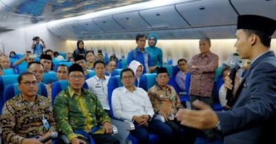 Pelaksanaan Haji Buat Neraca Keuangan Garuda Membaik