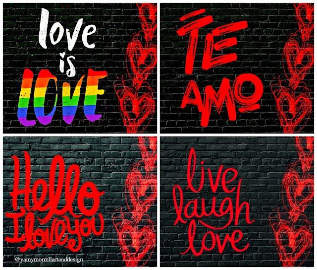 Graffiti-love-print-yamy-morrell