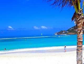 Bale de Saint Jean Beach St Barts Caribbean Saint Barth St Barthelemy France