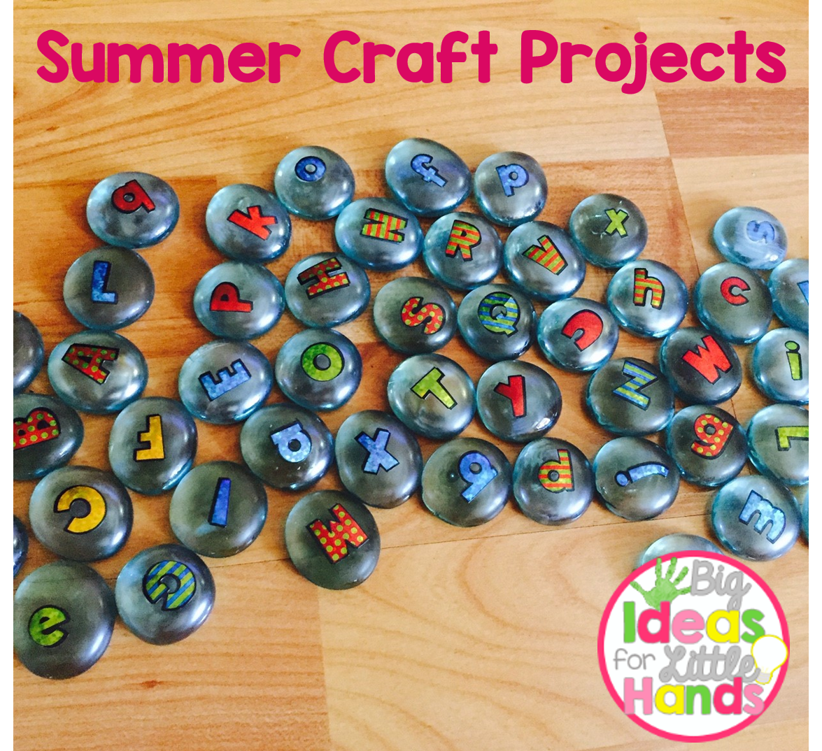Summertime Craft Projects Conversations From The Classroom