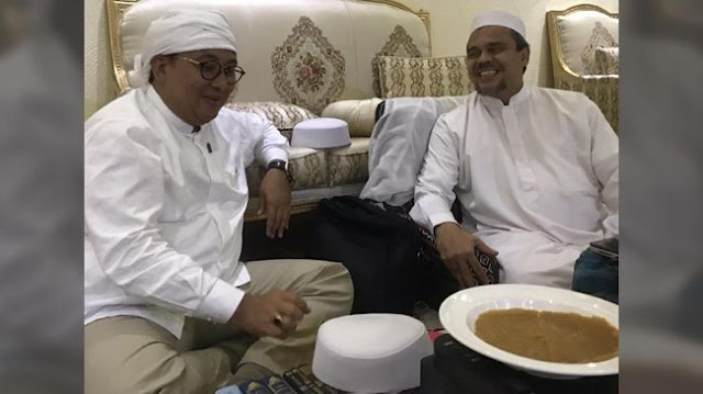 Gerindra Duga HRS Diadu Domba dengan Pemerintah Arab