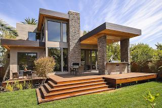 Desain Rumah Kecil Unik Era Modern 2016