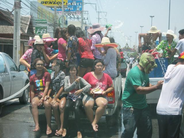 Songkran in Pattaya - Thailand