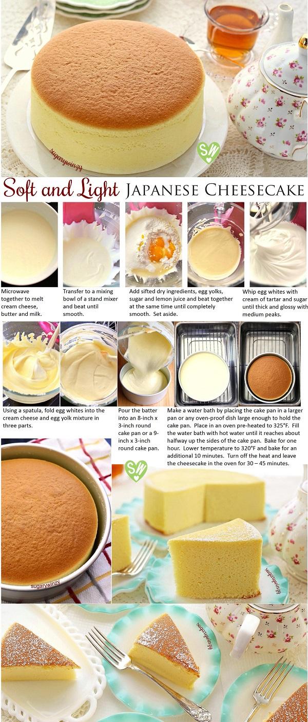 Japanese Cheesecake Red White Apron