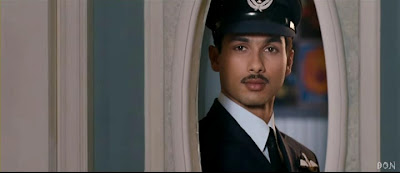 Shahid Kapoor As An Air Force Officer In Movie Mausam (2011)