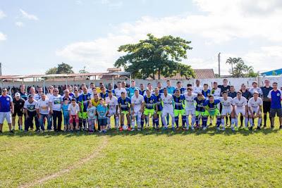 Futebol Solidário em prol do Fundo Social de Solidariedade de Iguape