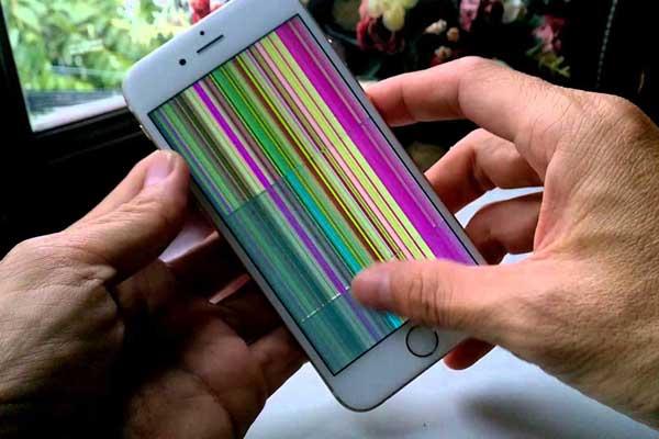 Màn hình iphone 6s plus bị hỏng