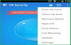 CM Security AppLock Antivirus, Protégez votre mobile