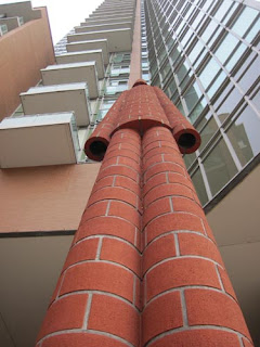 Looking Up At Brickman.