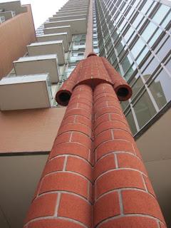 Looking Up At Brickman.
