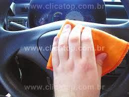 Como limpar volante carro