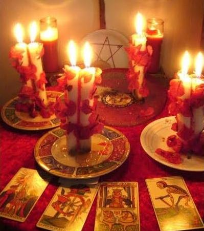 hechizos de amor con velas blancas y miel