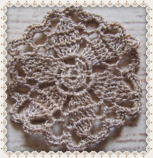 tiny crochet doily
