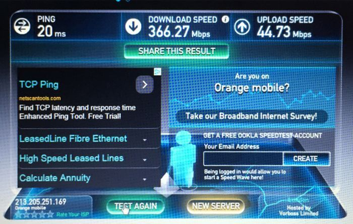 LTE Speed test: How to measure the performance of your mobile network