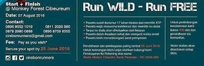 1st Ciremai Trail Run 10K 25K 2016, Lomba lari di gunung ciremai 2016, Lomba lari Cirebon