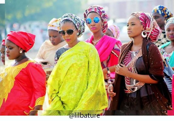 Photo: Emir of Kano's daughter and friends step out in style