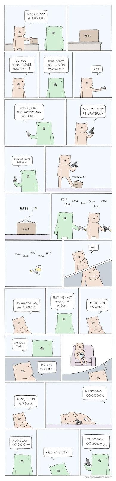 diversão em inglês - comic