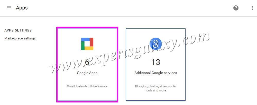 Google Apps Email Settings